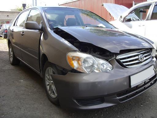 Фото повреждений Toyota
