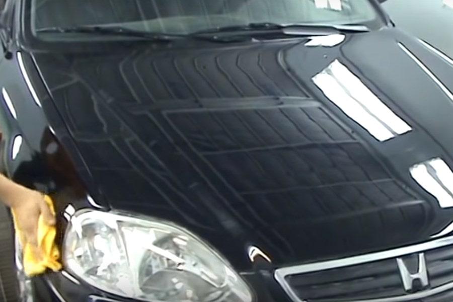 Фото авто после полировки