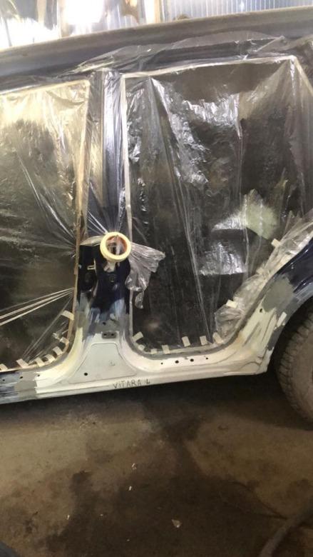 Фото авто подготовленного к покраске