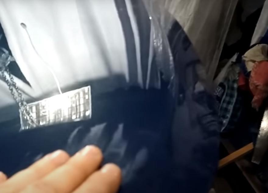 Фото результата устранения вмятины на капоте авто без покраски
